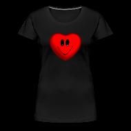 Women's T-Shirts ~ Women's Premium T-Shirt ~ Happy Heart Women's Premium T-Shirt