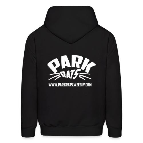 Park Rats Hoodie (Logo on back) - Men's Hoodie