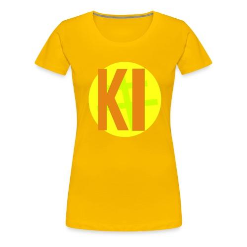 黄レンジャー T-Shirt - Women's Premium T-Shirt