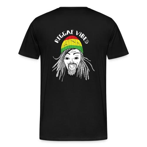 UNDV - Reggae Rasta Man (black) - Men's Premium T-Shirt