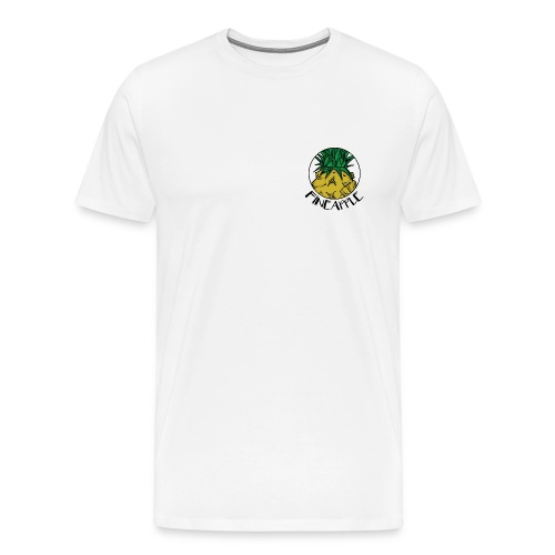 UNDV - Fineapple Yellow (white) - Men's Premium T-Shirt