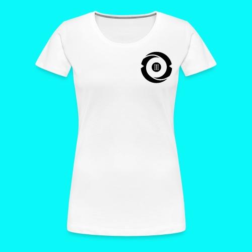 Women's White Short Sleeve - Women's Premium T-Shirt