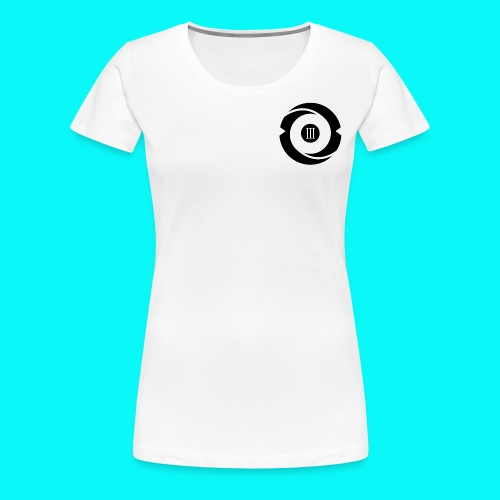 Women's White Short Sleeve - Women's Premium T-Shirt