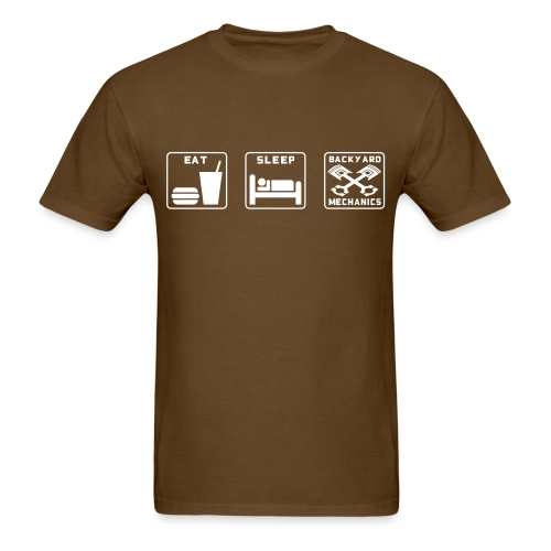 Mens EAT SLEEP BM old white - Men's T-Shirt