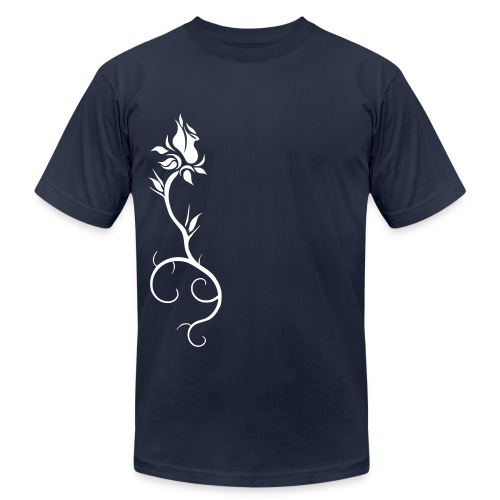 Rooted Rose - Men's Fine Jersey T-Shirt