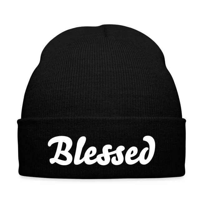 'Blessed' Knit Cap