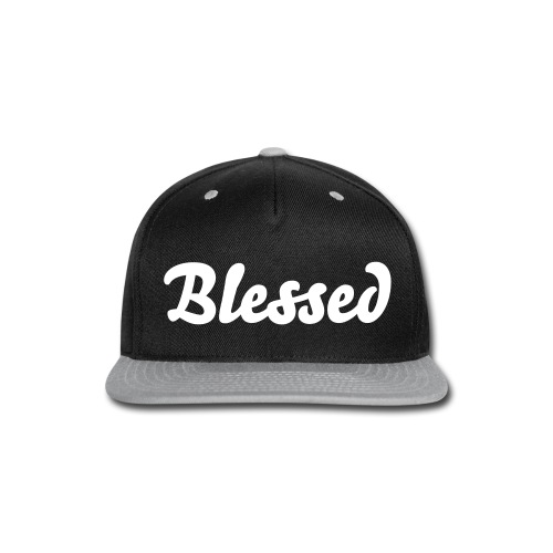 'Blessed' Snapback - Snap-back Baseball Cap