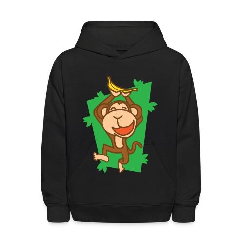 My Joyful Monkey - Kids' Hoodie