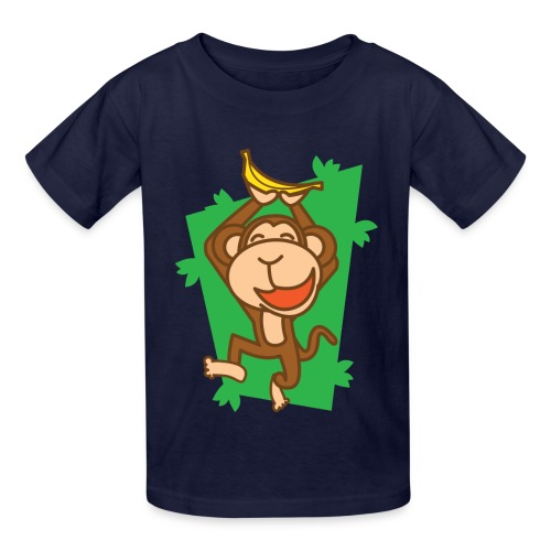 My Joyful Monkey - Kids' T-Shirt