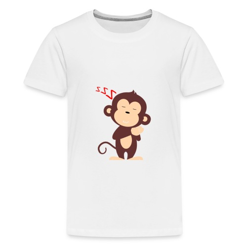 Monkey Sleeping - Kids' Premium T-Shirt