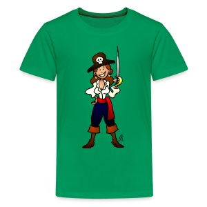 Pirate girl Kids' Shirts - Kids' Premium T-Shirt