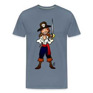 Pirate girl T-Shirts - Men's Premium T-Shirt