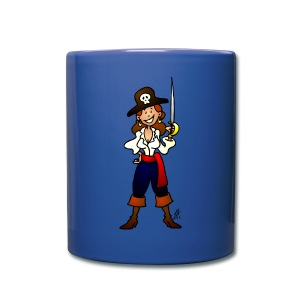 Pirate girl Mugs & Drinkware - Full Color Mug
