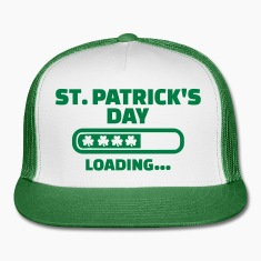 St. Patrick's day loading Caps