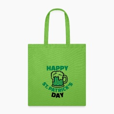 Happy St. Patrick's day Bags & backpacks