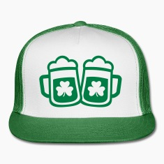 Green irish beer Caps