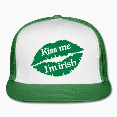 Kiss me I'm irish Caps