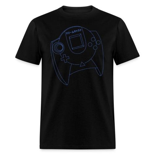 Dreamcast Controller Blueprints T-Shirt (Men's) - Men's T-Shirt