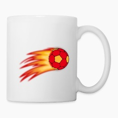 handball comet Mugs & Drinkware