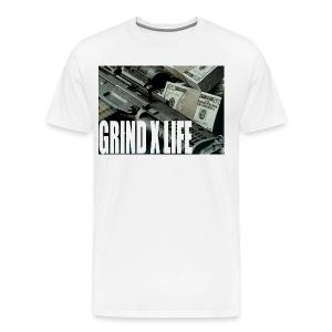 GRIND X LIFE TEE MONEY - Men's Premium T-Shirt