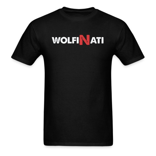 WolfZ1 - Black Tee - Men's T-Shirt