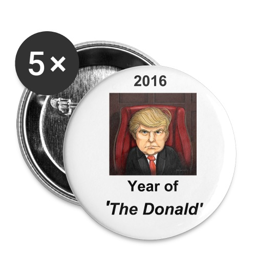 'The Donald' Button - Large Buttons