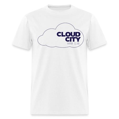 Cloud City blue on blue - Men's T-Shirt
