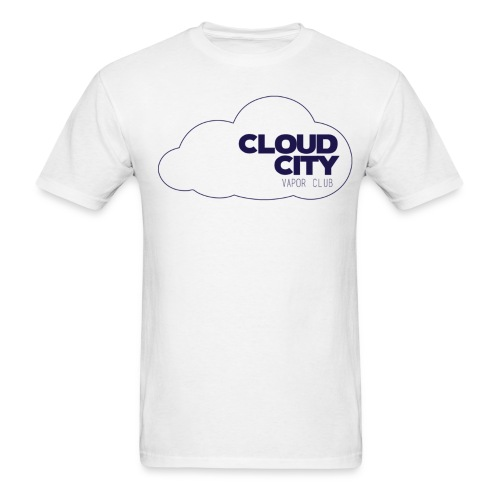 Cloud City blue on blue - Men's T-Shirt
