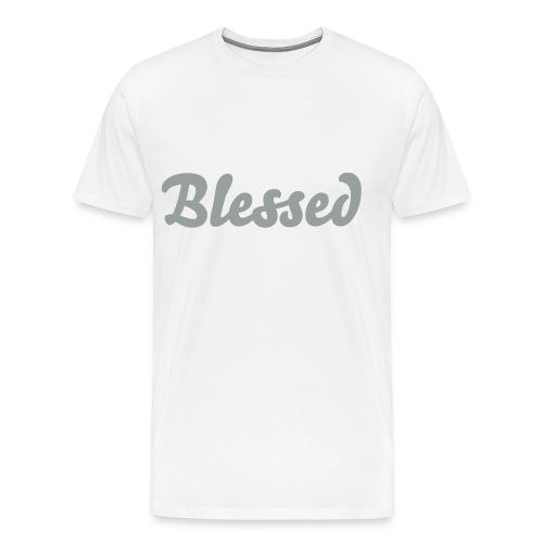 'Blessed' Premium Tee - Men's Premium T-Shirt