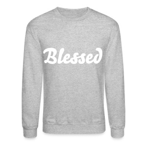 'Blessed' Sweatshirt - Crewneck Sweatshirt