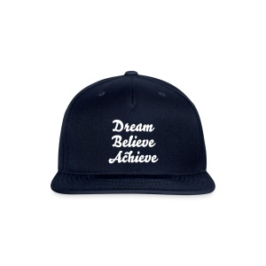'Dream Believe Achieve' Tee - Snap-back Baseball Cap