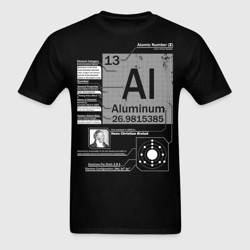 Aluminum t shirt - Men's T-Shirt