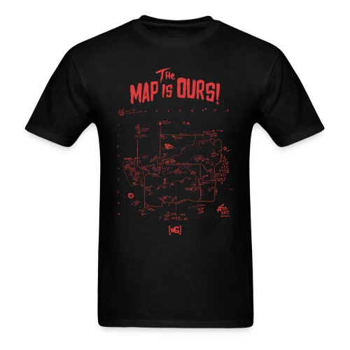 The Map Is Ours - T-Shirt - Men's T-Shirt