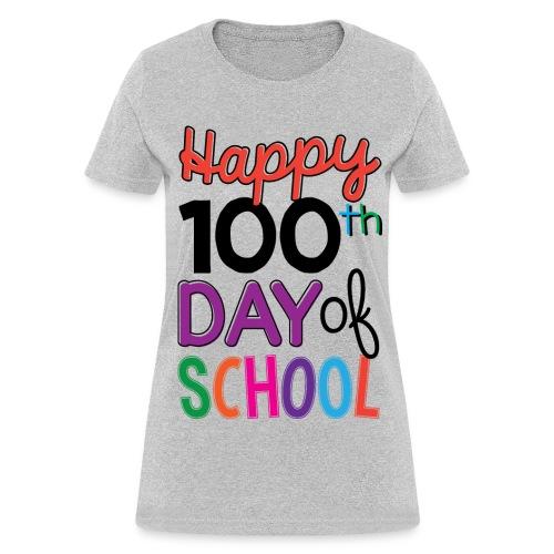 100th Days of School - Women's T-Shirt