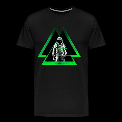 RL9 Spaceman Green - Men's Premium T-Shirt