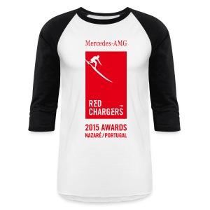 Red Chargers Baseball Tee - Baseball T-Shirt