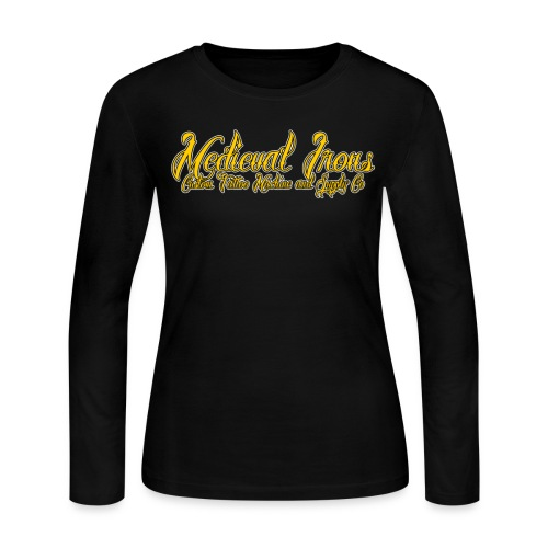 Medieval Trademark A (wl) - Women's Long Sleeve Jersey T-Shirt