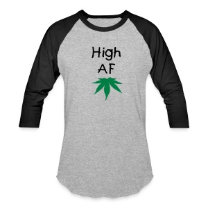 High AF Men's Baseball Tee - Baseball T-Shirt