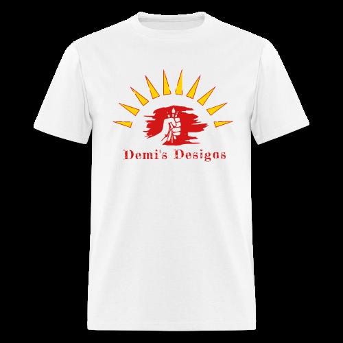 Demi's Designs (Red) - Men's T-Shirt