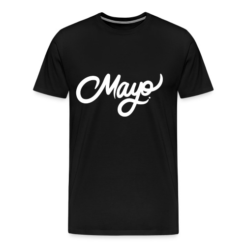 MayoGraphics Black T-Shirt - Men's Premium T-Shirt