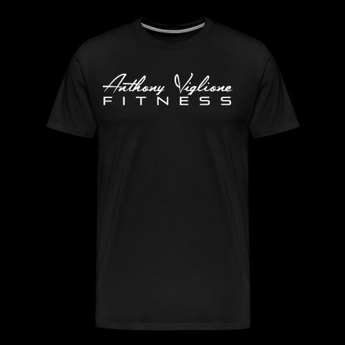 White AVF Men's Premium Tee - Men's Premium T-Shirt