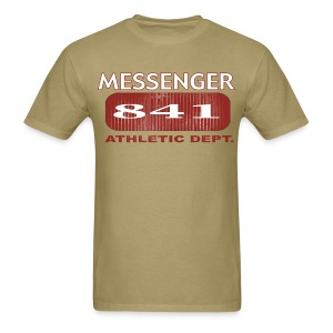 Messenger 841 Athletic Dept Logo Tee - Men's T-Shirt