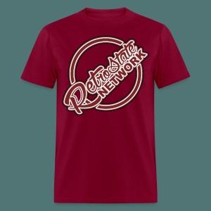 RSN SIMPLEX [Black, White, & Burgandy] - Men's T-Shirt