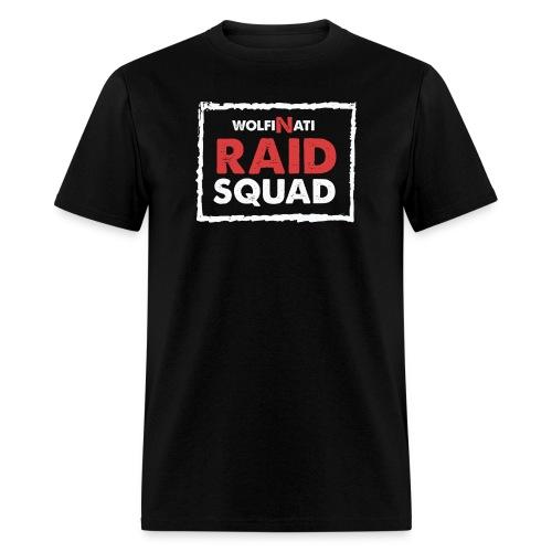 Raid Squad - Black T-Shirt - Men's T-Shirt
