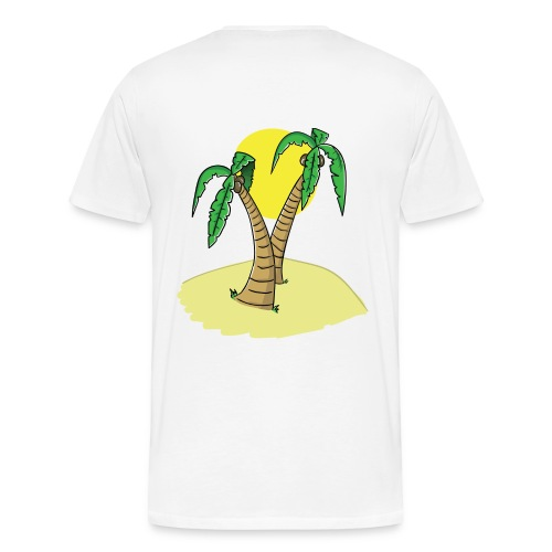 UNDV - Palm Beach - Men's Premium T-Shirt