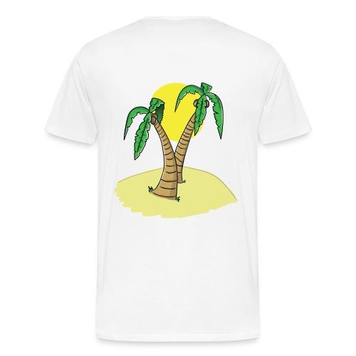 UNDV - Palm Beach - Men's Premium T-Shirt
