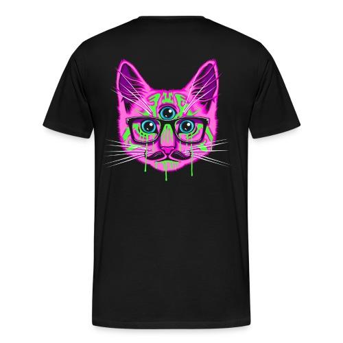 Crazy Cat - Men's Premium T-Shirt