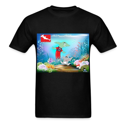 Je sui Sharkie - Men's T-Shirt