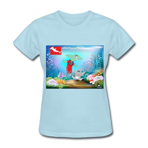 Je sui Sharkie - Women's T-Shirt