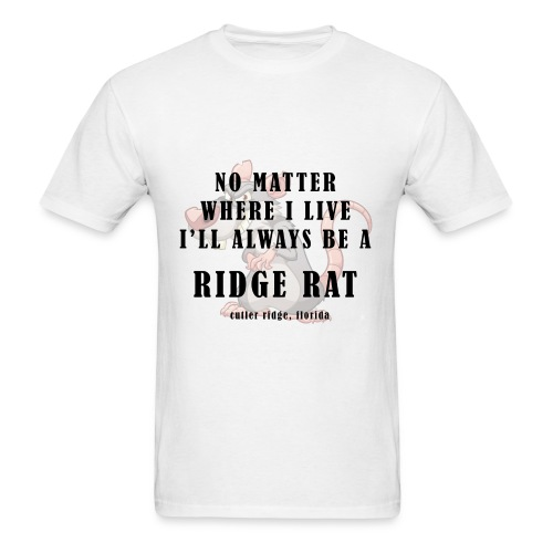 No Matter Where I Live (Clean) - Mens Basic Tee - Men's T-Shirt